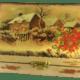 darilna lesena skrinjica Božič